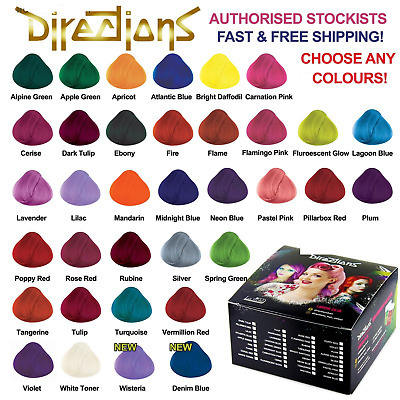 La Riche Directions Hair Dye Colour Choose All Colours 1,2,3,4 Pack Avilable