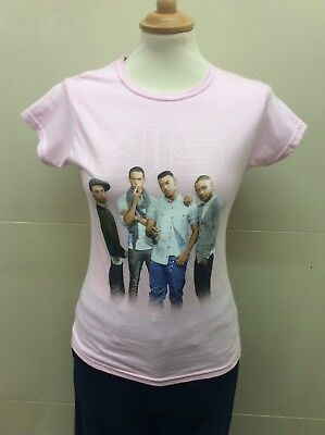 JLS band t shirt in ladies fit small