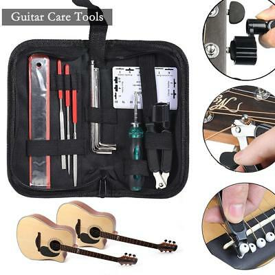 Guitar Setup Kit Nut files/ String Spacing Ruler/ Action Guage Luthier Tools