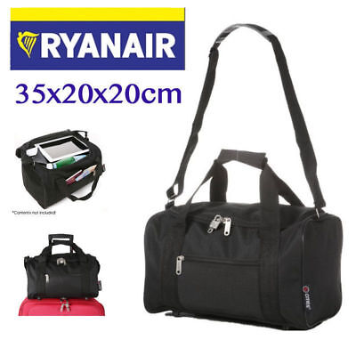 Lightweight Small Holdall 35x20x20cm Ryanair 2nd Extra Carry On Cabin Bag Sports