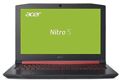 "15,6""/39,6cm Notebook Acer Nitro Intel i5 8GB RAM 256GB SSD NVIDIA MX150 Win10"
