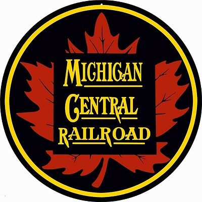 Michigan Central Railroad Sign