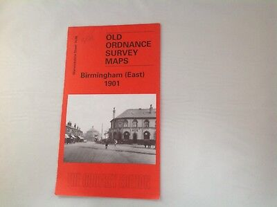 Vintage Ordnance Survey Map Birmingham East 1901