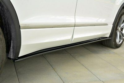 Side Skirts Add-On Diffusers Vw Tiguan Mk2 R-Line (2015-Up)