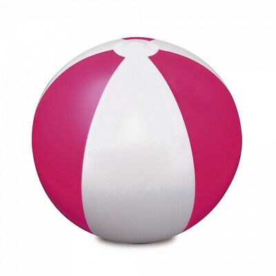 "Pink 9"" Inflatable Blow Up Panel Beach Ball Holiday Swimming Pool Party Toy Uk"