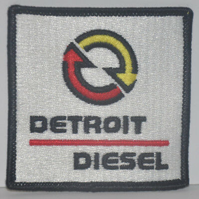 Detroit Diesel Corporation (Mid-80's NOS) Embroidered Patch