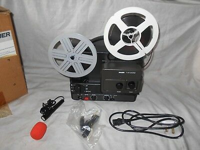 Bauer T172 Sound Super 8mm Projector - Boxed.