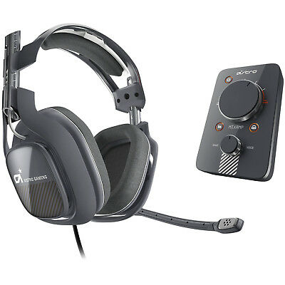 ASTRO Gaming A40 And MixAmp Pro PS4 PS3 PC MAC - Dark Grey