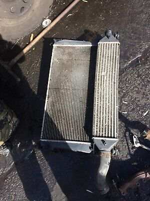 Doblo Combo 1.6 2010-2015 Radiator Intercooler Fan Houseing