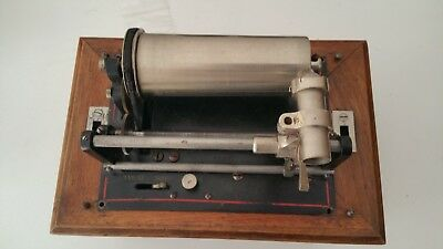 Phonographe à cylindre Pathé type « coquet » vers 1900