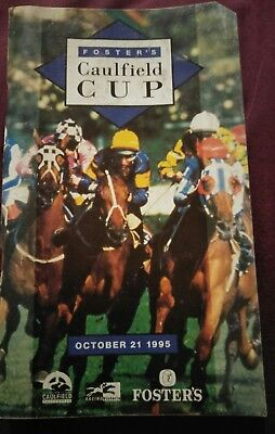 1995 Caulfield Cup Race Book Doriemus