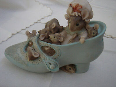 Beatrix Potter Money Box- Mrs Tittlemouse & kids - Frederick Warne and Co 1994