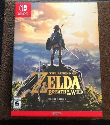 The Legend of Zelda Breath of the Wild Special Edition Nintendo Switch *NEW*