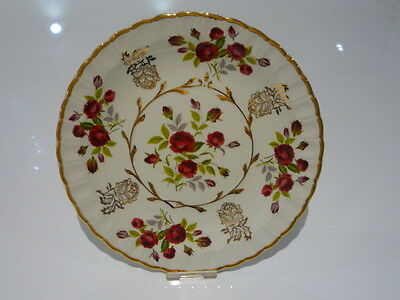 Avon by Wood and Sons Alpine White Rose Patterned China Plate