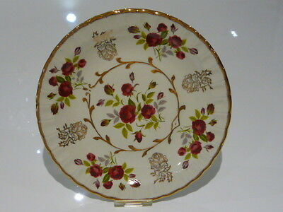 Avon Plate by Wood and Sons Alpine White Rose Patterned China Plate (1)