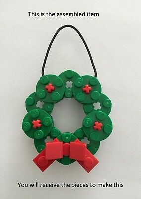 Christmas wreath tree decoration - all new genuine parts - assembled/unassembled