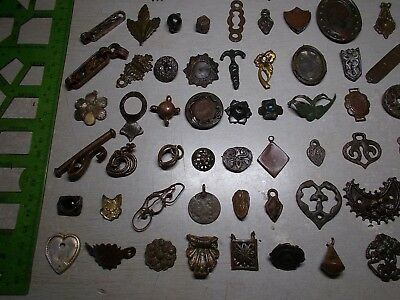 Mix finds 10-20th century Metal detector finds (125 pieces)