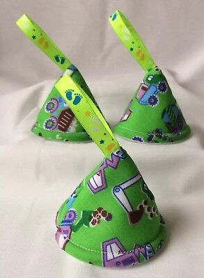 baby boy nappy pee pee teepee (set of 3) Baby Shower/Gift Idea(Green dump truck)
