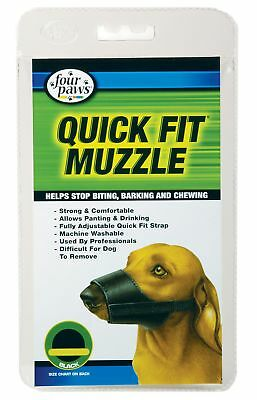 Four Paws Quick Fit Dog Muzzle, Size 0