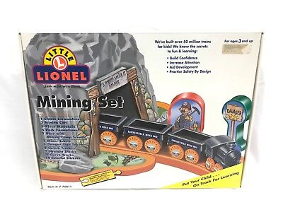 Rare Little Lionel Mining Set 7-75011 New