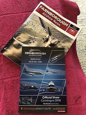 Farnborough Airshow Official Show Catalogue