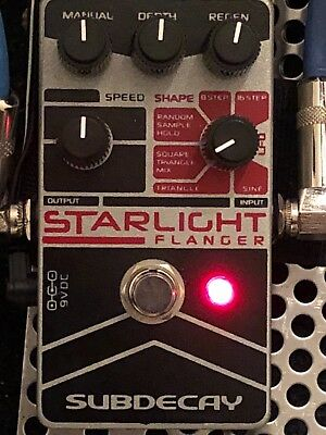 Subdecay Starlight Flanger V2 Effects Pedal