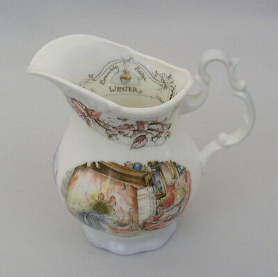 Royal Doulton - Winter - Brambly Hedge Gift Coll.- Creamer - Excellent Condition