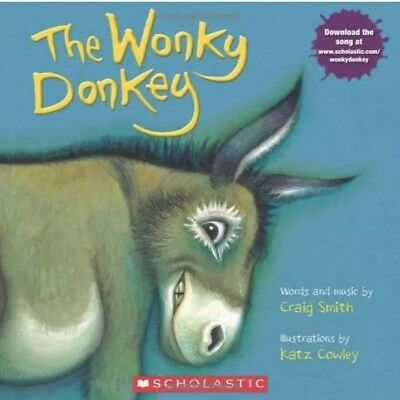 The Wonky Donkey by Craig Smith- Paperback-NEW