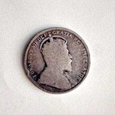 1905 canadian canada quarter 25 cents Silver content AG