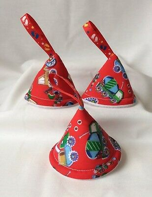 baby boy nappy pee pee teepee (set of 3) Baby Shower/Gift(Red dump truck)