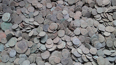 Roman Empire 80 coins - uncleaned coins