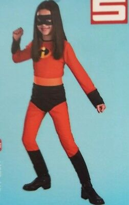 Brand New The  Incredibles Violet Classic Child Costume size 4 to 6