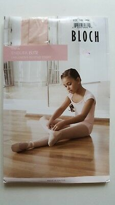 New In Package Bloch Endura Footed Tights Size Child Small