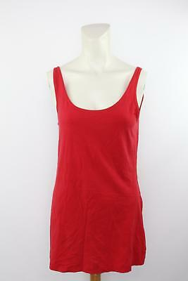 Lululemon Athletica Women's Red Solid Activewear Tank Top Size 8