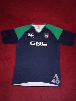 Canterbury Leicester Tigers Training Jersey Navy/Green. Size 3XL