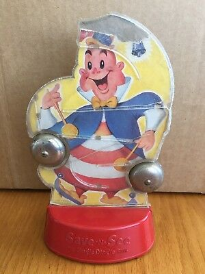 Vintage 1952 Jingle Dingle Save N See Bank Rexor Corp New York