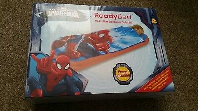 ReadyBed Spiderman (All-in-one sleepover solution) pump included