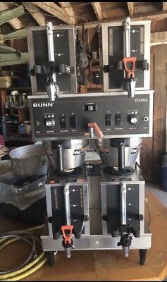 Bunn Dual Automatic Coffee Brewer Maker Machine - With Extras