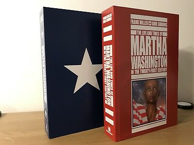 The Life And Times Of Martha Washington Hardcover With Slipcase Frank Miller