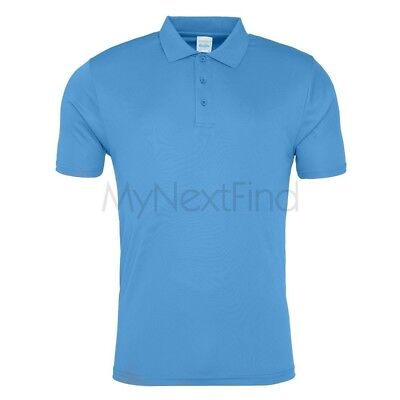 AWDis Just Cool Mens Womens Sports Gym Cool Smooth Polo Shirt