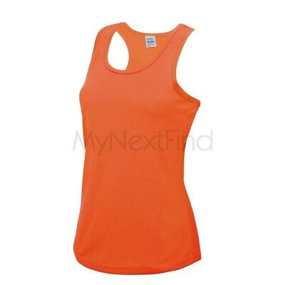 AWDis Just Cool Womens Girlie Sports Gym Cool Vest