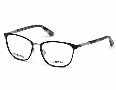 c3f40127b1 NEW Guess GU 2659 002 Matte Black Optical Eyeglasses Frames