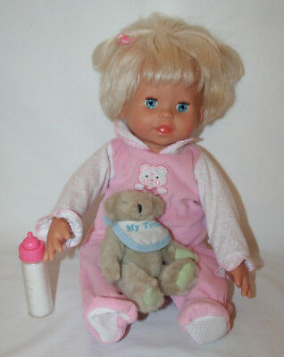 Little Mommy Real Loving Baby Doll Fisher Price 2006 Works Interactive Mattel