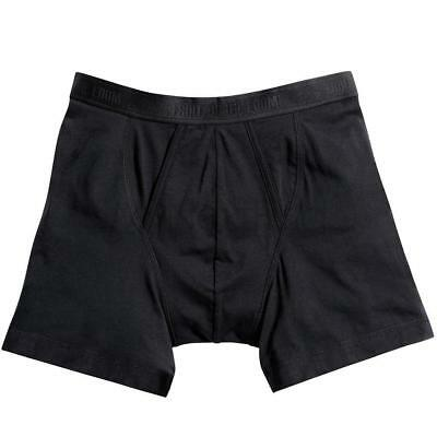 Fruit of the Loom Mens Classic Boxer Shorts Underwear 2-Pack