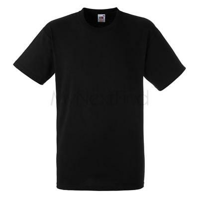 Fruit of the Loom Heavy Cotton Plain Blank T-Shirt