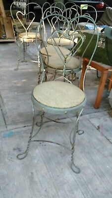 Vintage Ice Cream Parlor Chair