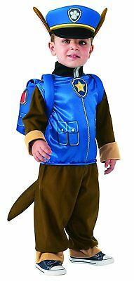 Paw Patrol  Boys Chase Halloween Costume NWT  2T/3T 2-3 Yrs,  Jumpsuit Pup Pack