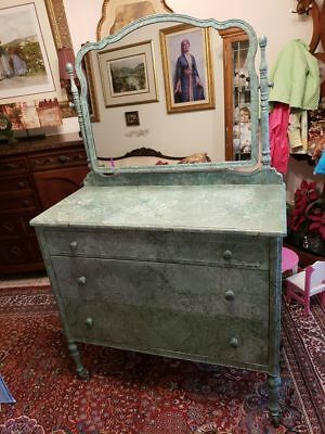 DRESSER - VERY Rare - All Steel, Simmons Sheraton Style, Great Condition