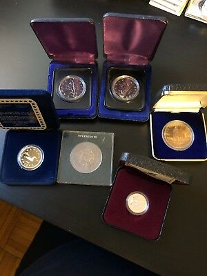 Lot Of 6 Canada Coins Inc Silver, Get All 6 Pictured