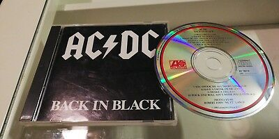 "AC DC CD Rarität ""Back in Black"" / Top-Zustand / very good Condition"